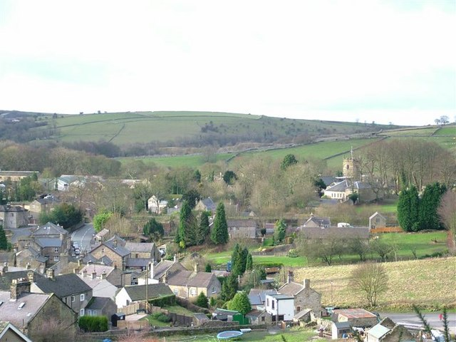 Eyam Village - geograph.org.uk - 205670