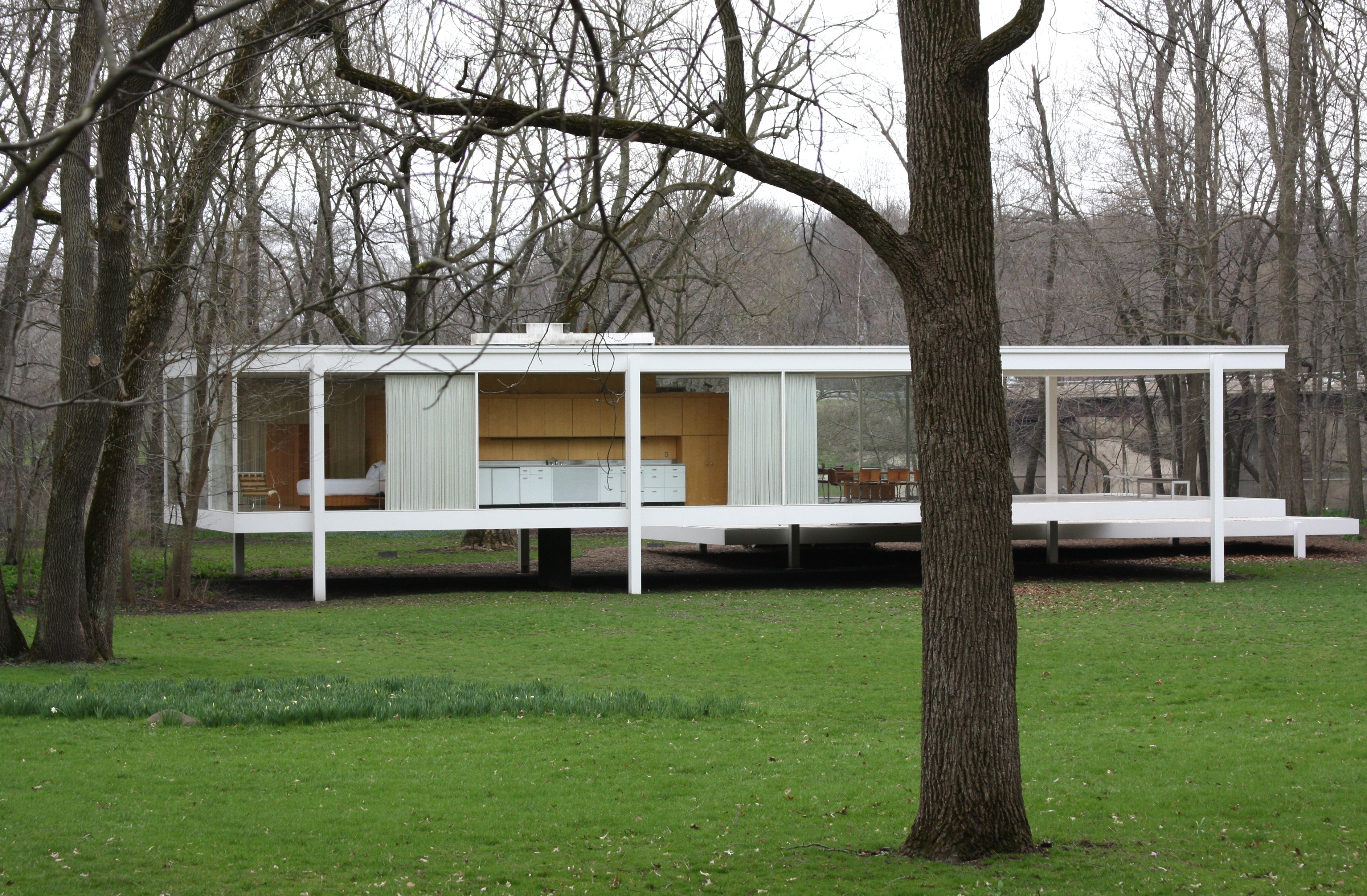 file farnsworthhouse mies wikimedia commons. Black Bedroom Furniture Sets. Home Design Ideas
