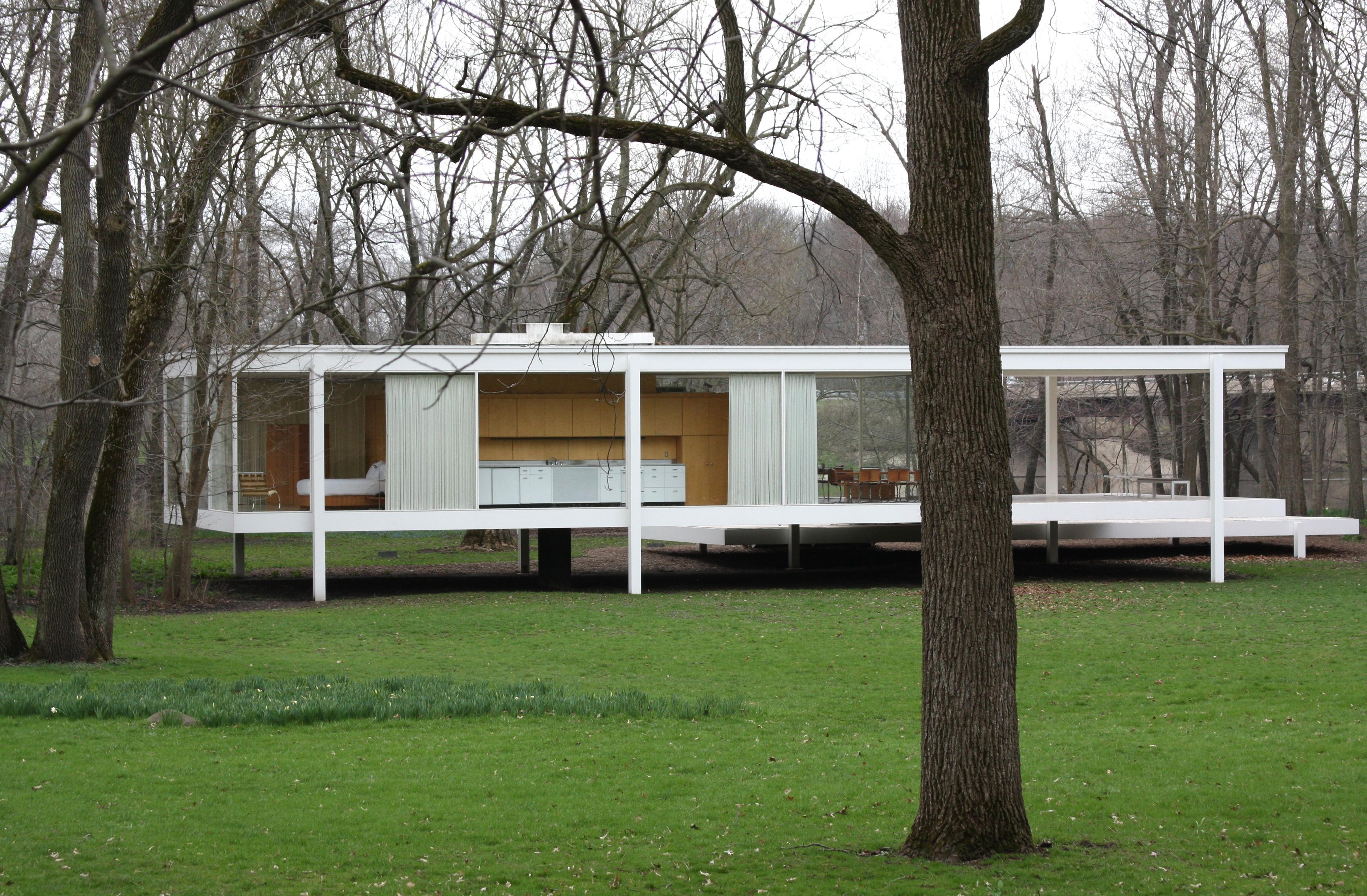 file farnsworthhouse mies wikimedia commons. Black Bedroom Furniture Sets. Home Design Ideas