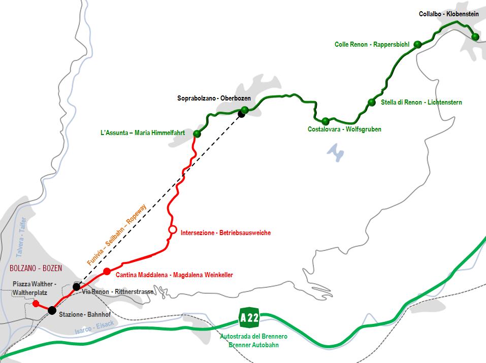Ferrovia Del Renon Wikipedia