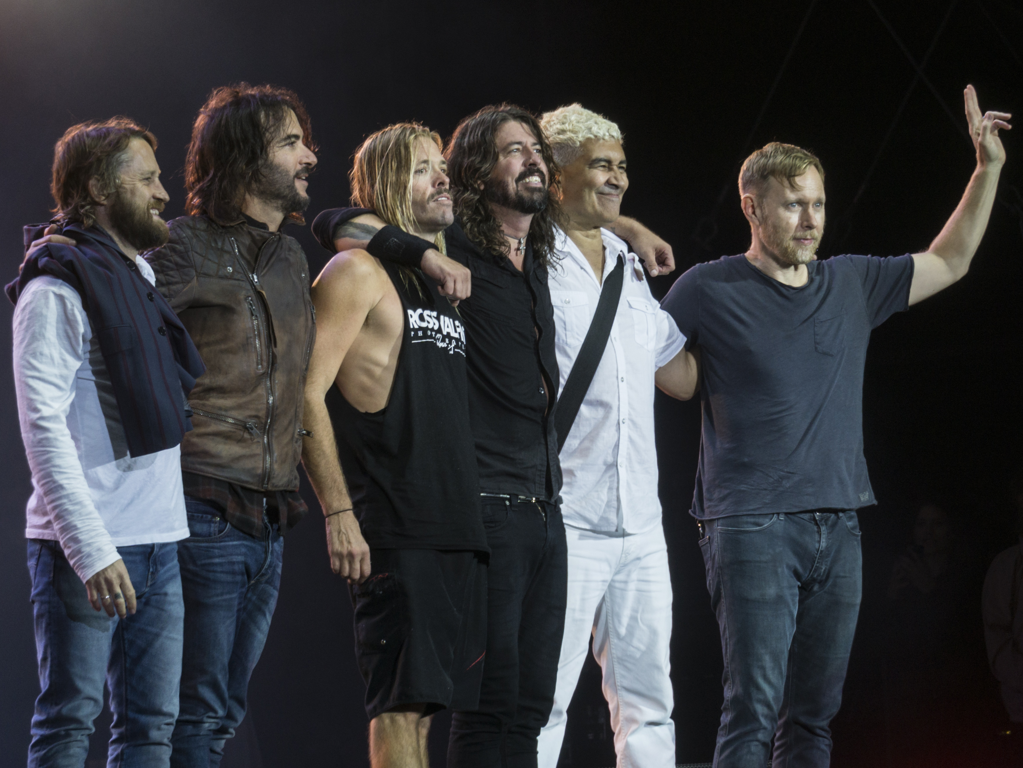 Picture of a band or musician: The Foo Fighters