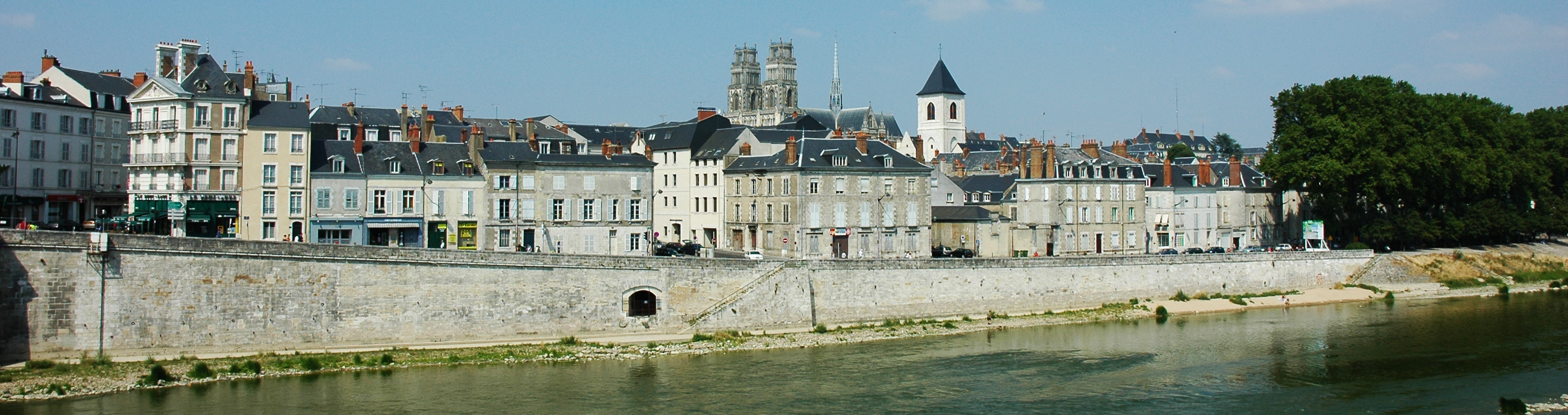 File france orleans panorama wikimedia commons for Loiret orleans