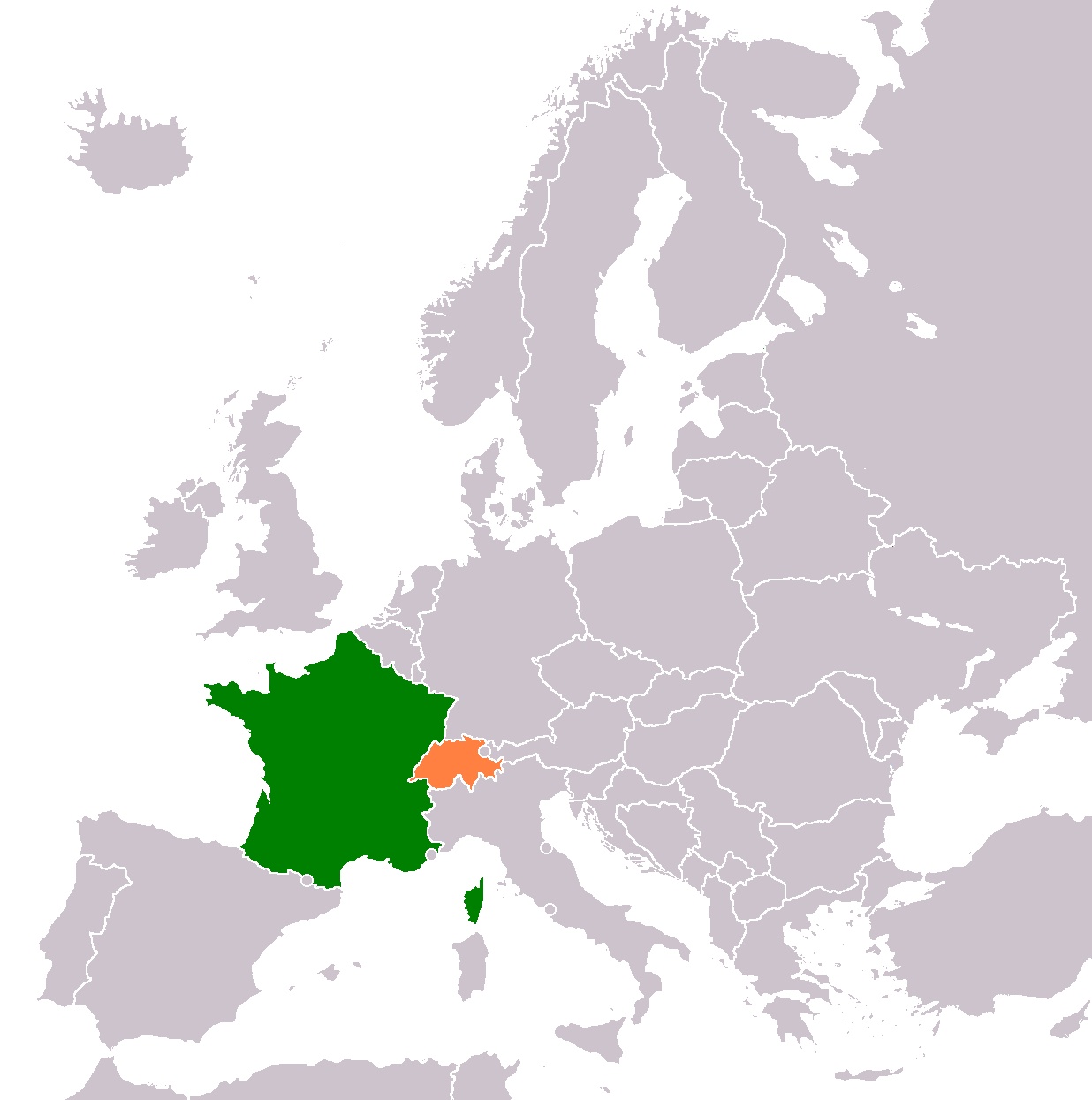 France Switzerland Relations Wikipedia