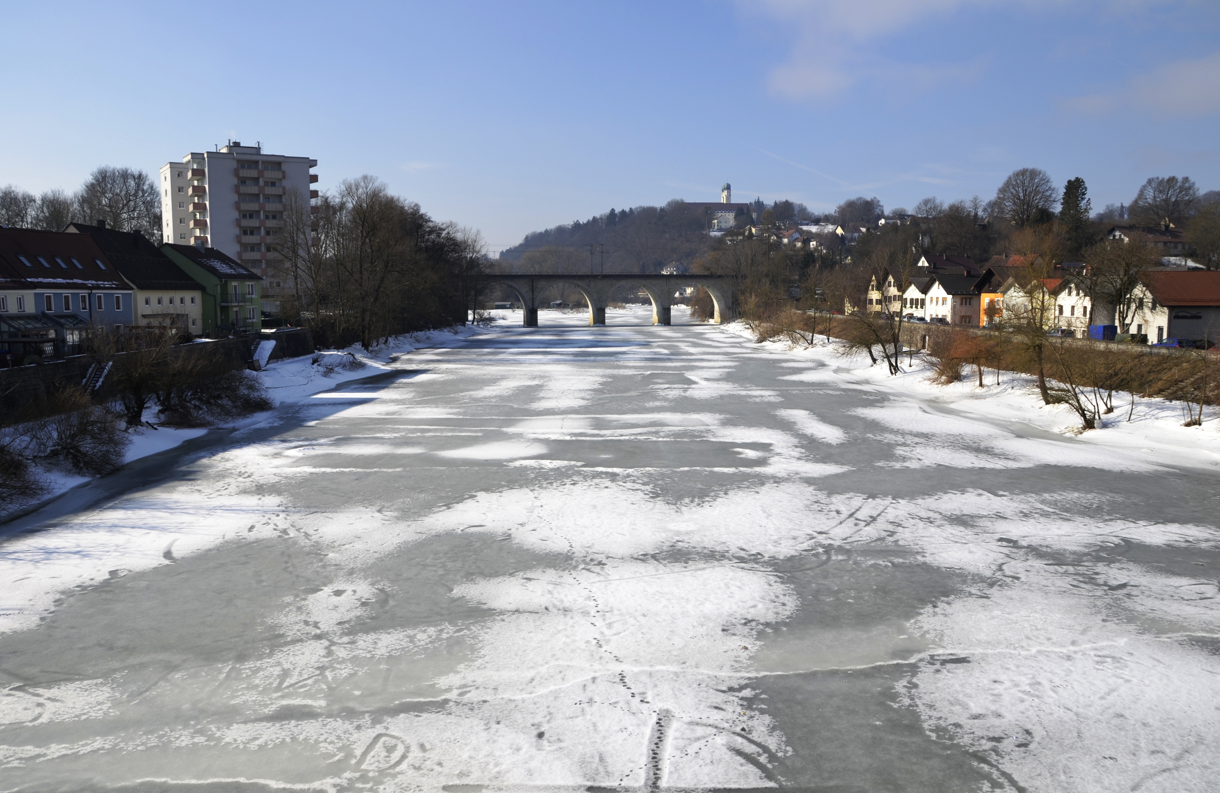 Image result for frozen river