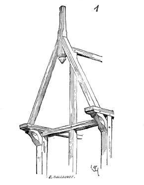 Gable (Illustration fig1 - Viollet-le-Duc tome6).png