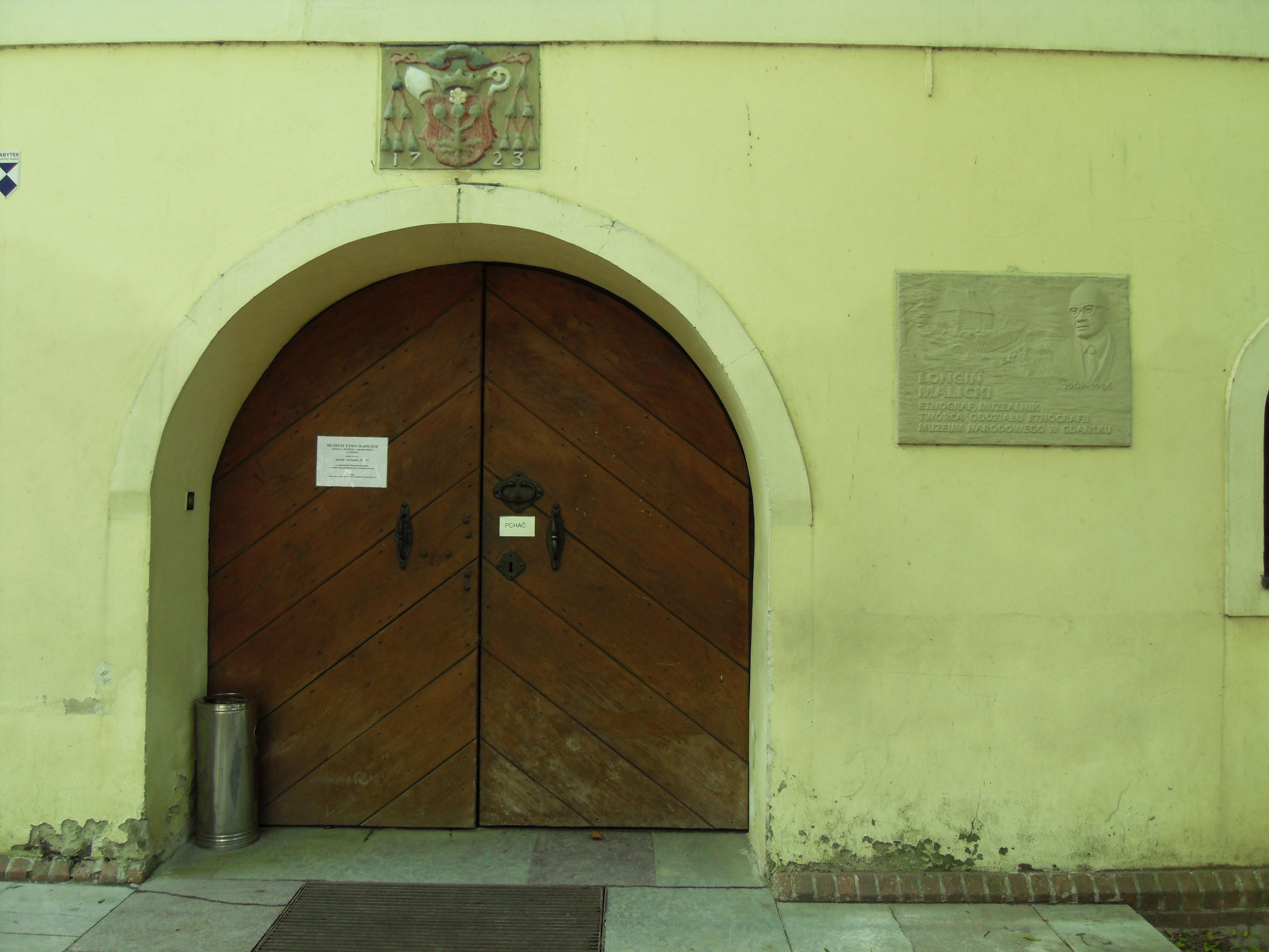 Gdańsk Oliwa – Spichlerz Opacki (wejście).JPG