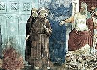 São Francisco de Assis diante do Sultão, obra de Giotto.