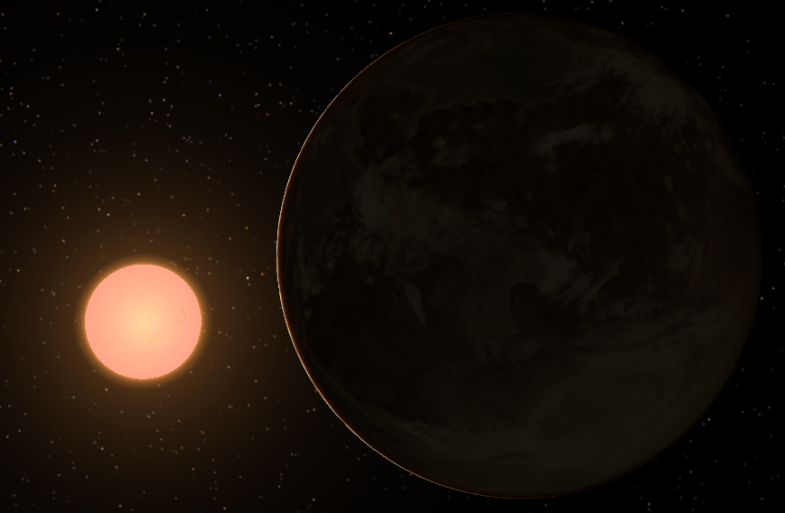 Gliese 849 B System Map (page 2) - Pics about space