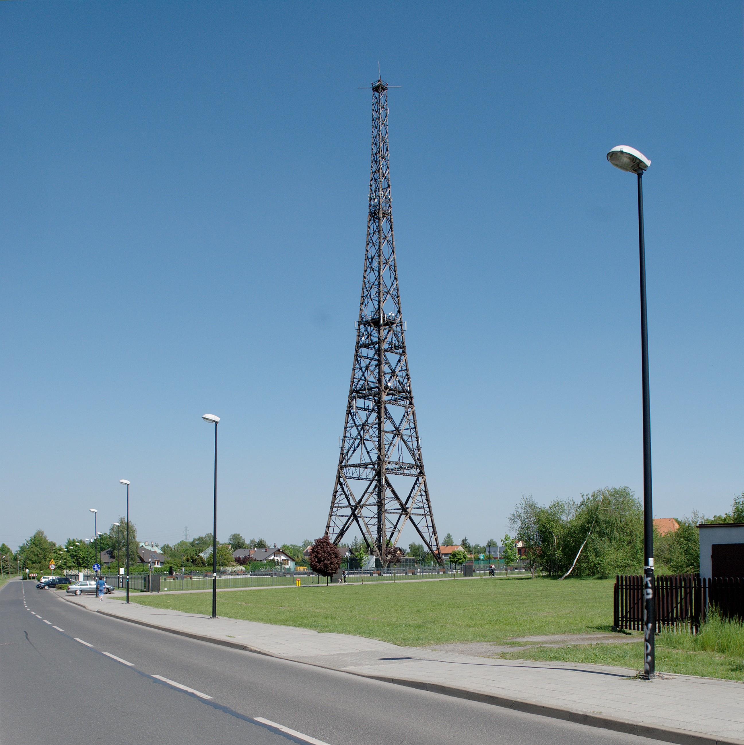 Gliwice Radio Tower - Wikipedia