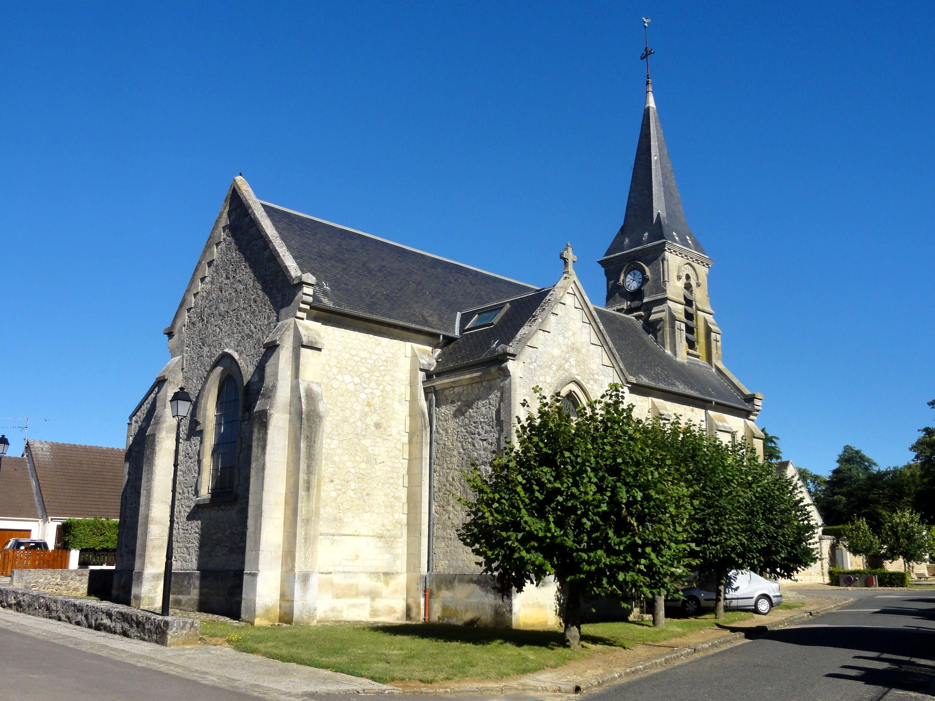 File gondreville 60 glise saint martin vue depuis le for Gondreville 54