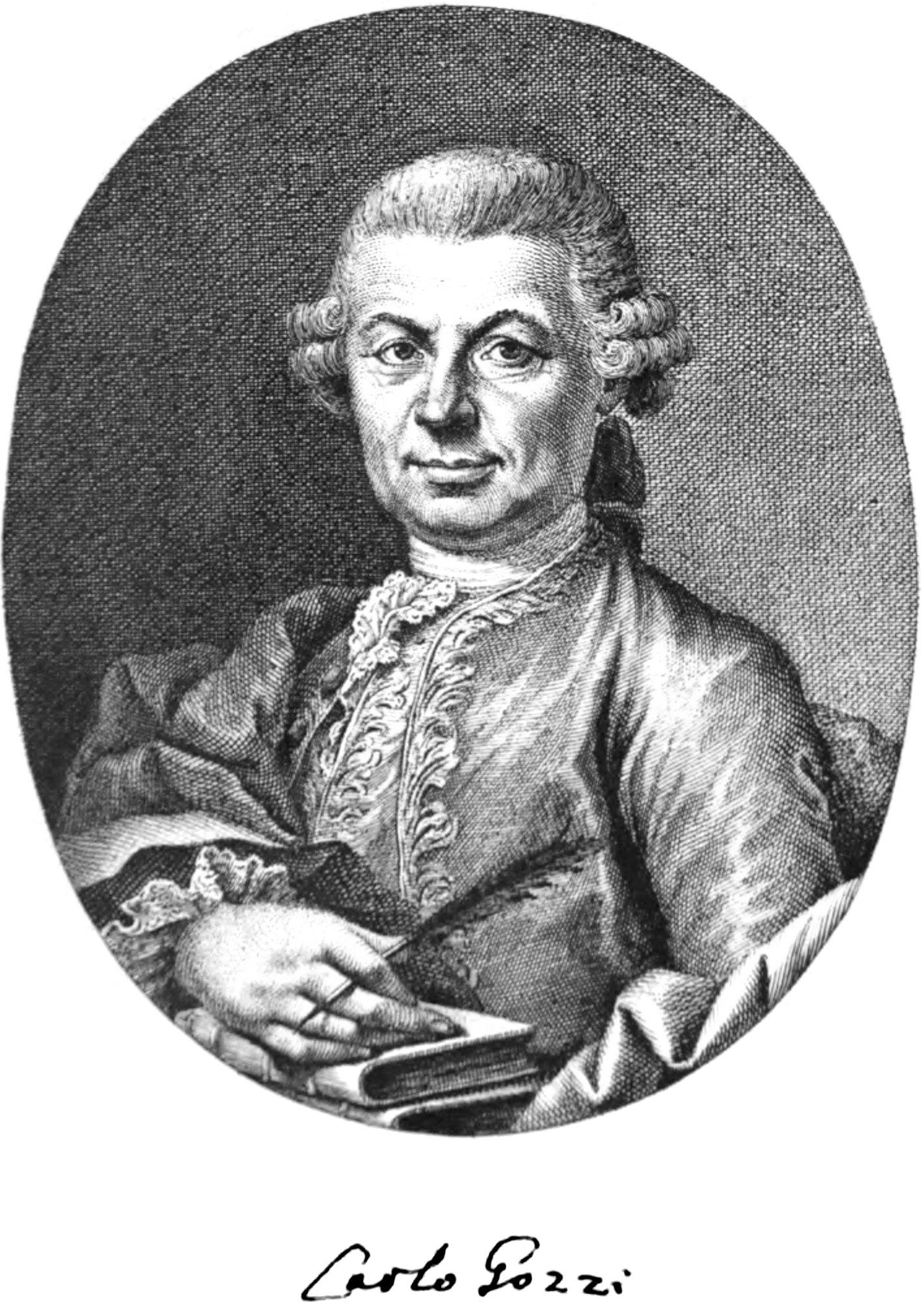 Portrait of Carlo Gozzi