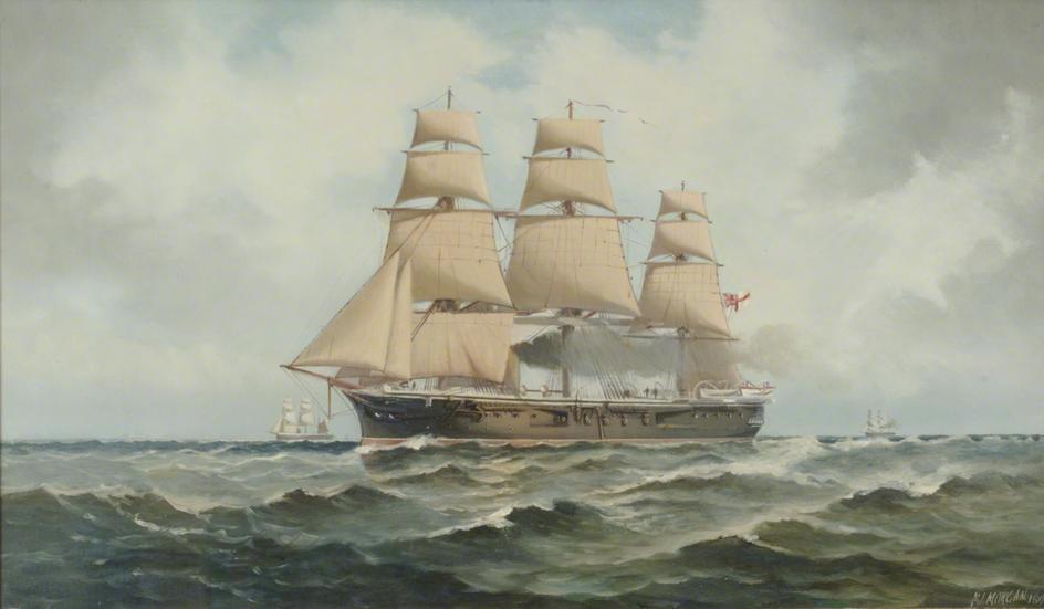 File Hms Penelope By Henry Morgan Jpg Wikimedia Commons