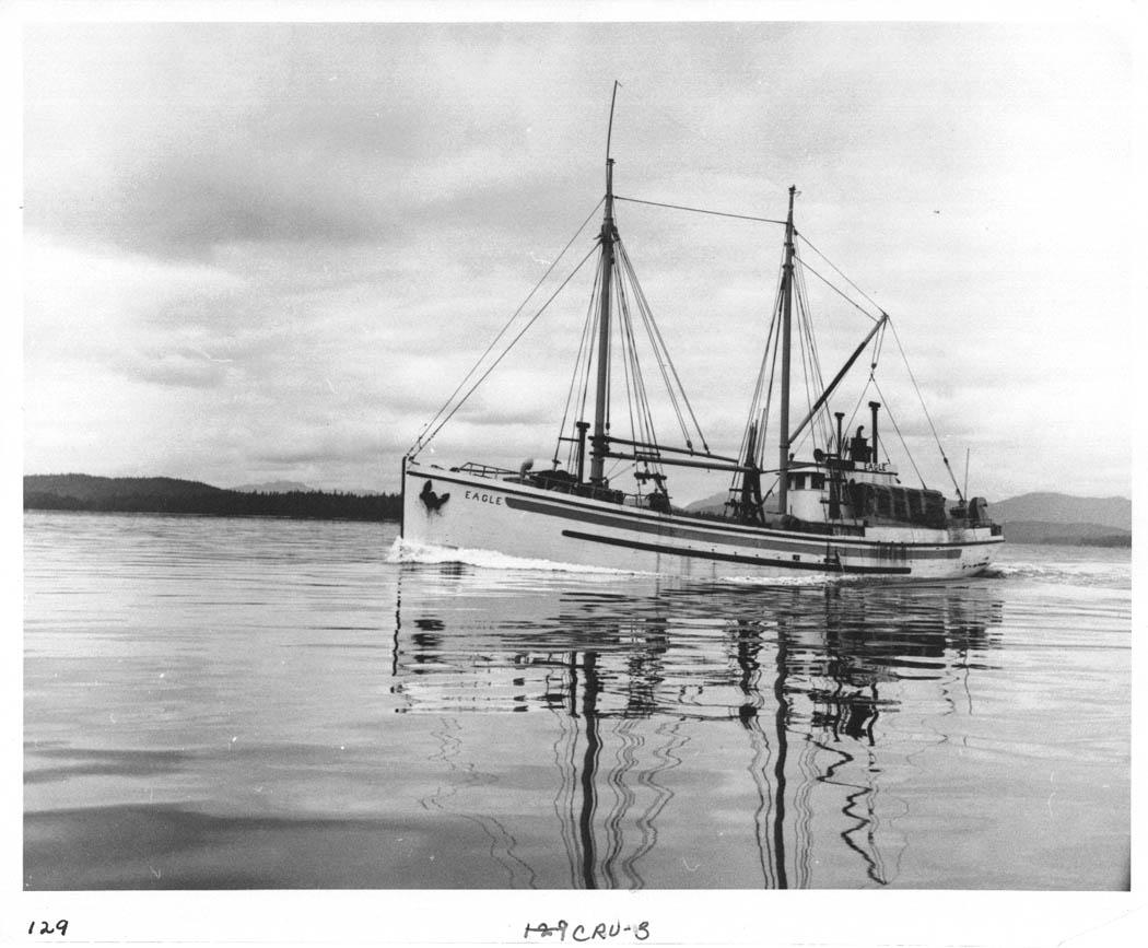 File halibut boat eagle petersburg ak 1947 for Petersburg alaska fishing