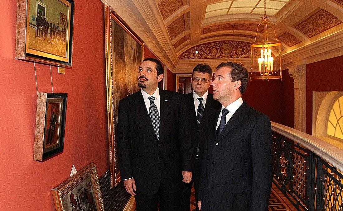 Hariri and Medvedev - Gorki, 2010-2