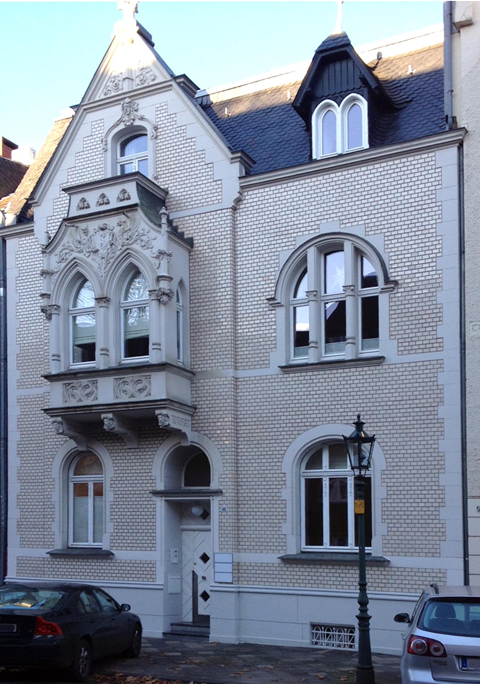 Datei Haus Sonderburgstraße 46 Düsseldorf Oberkassel