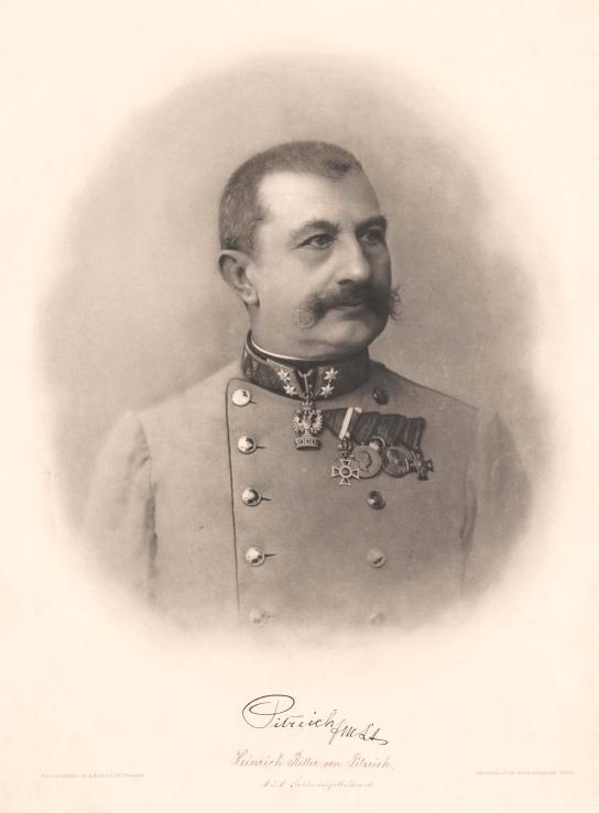 Heinrich von Pitreich GTÖ 1905 A. Huber