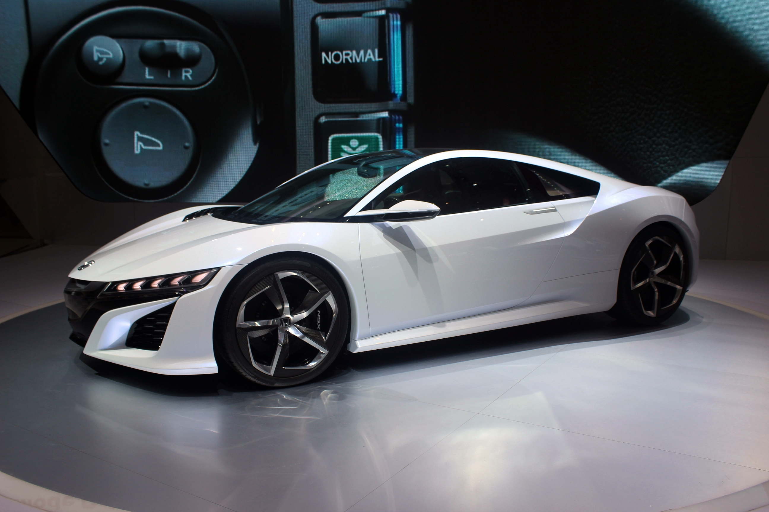 Honda NSX Concept At The 2014 Indonesia International Motor Show