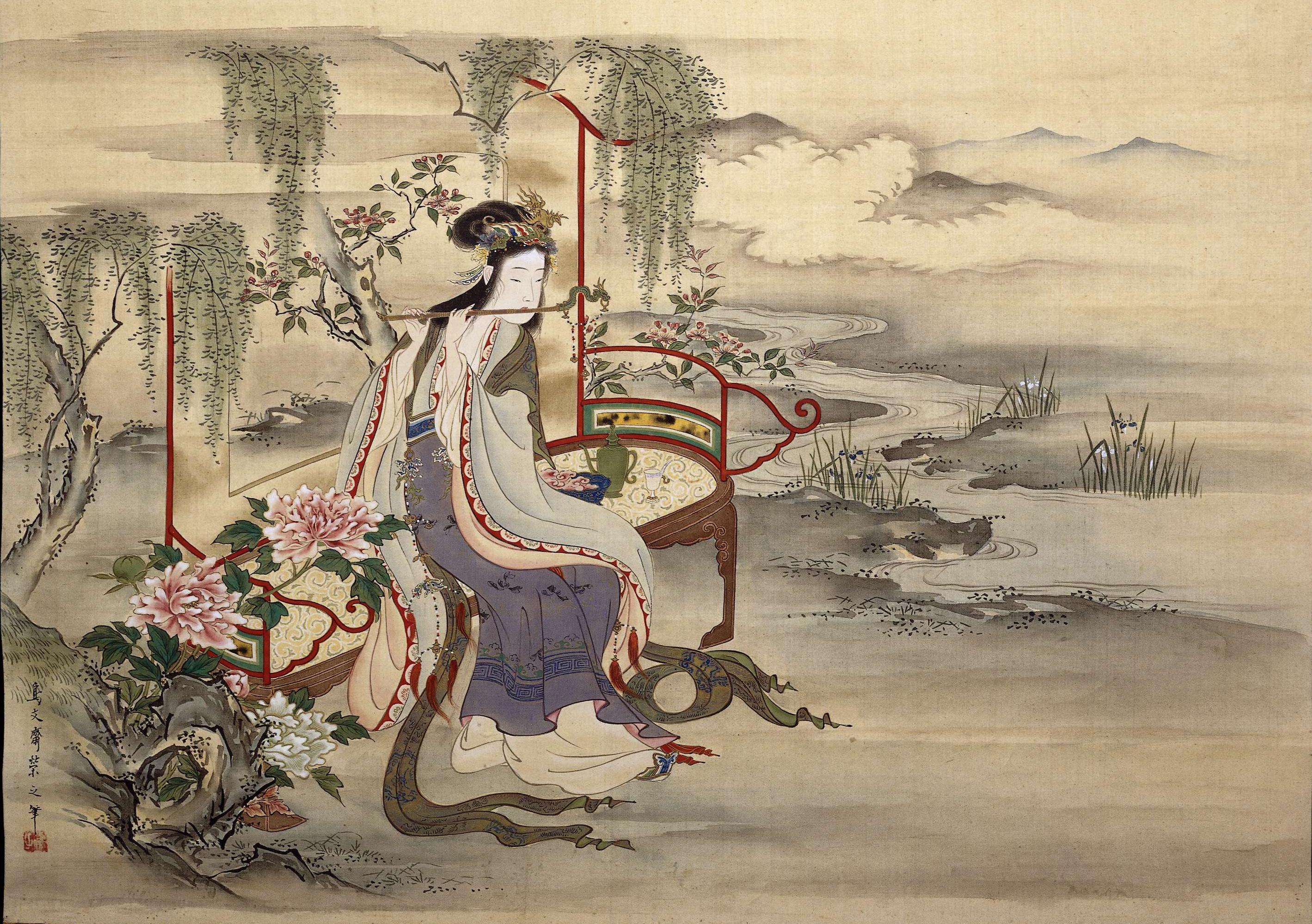 Hosoda Eishi - Yang Gui Fei