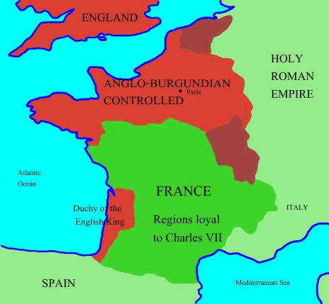 Map Of England To France.File Hundred Years War France England 1435 Jpg Wikimedia Commons