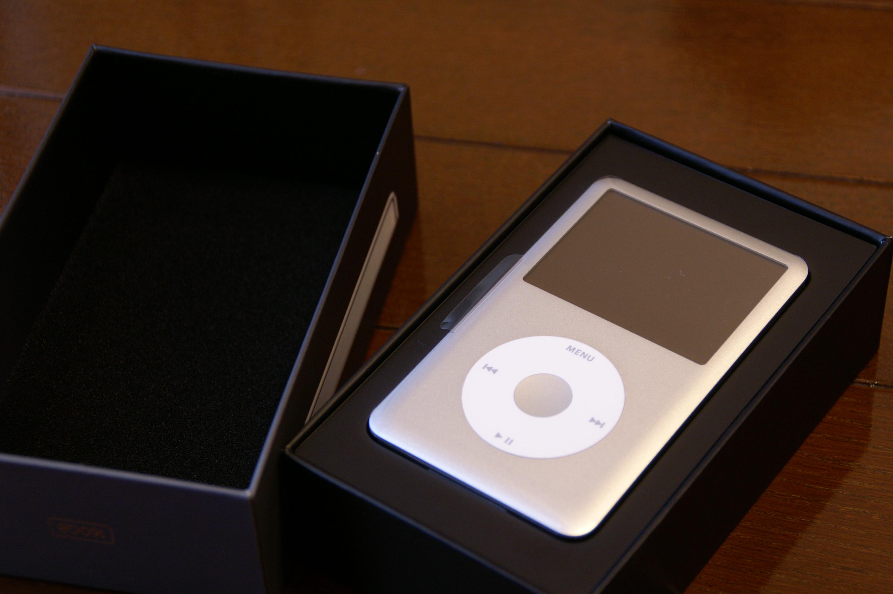 File:IPod classic silver 6G 160GB in box-2007-09-22.