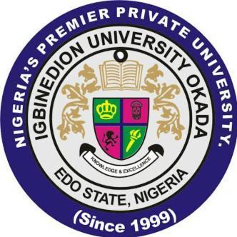 Igbinedion University Admission Screening Date
