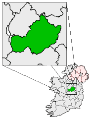 Ireland map County Westmeath Magnified.png