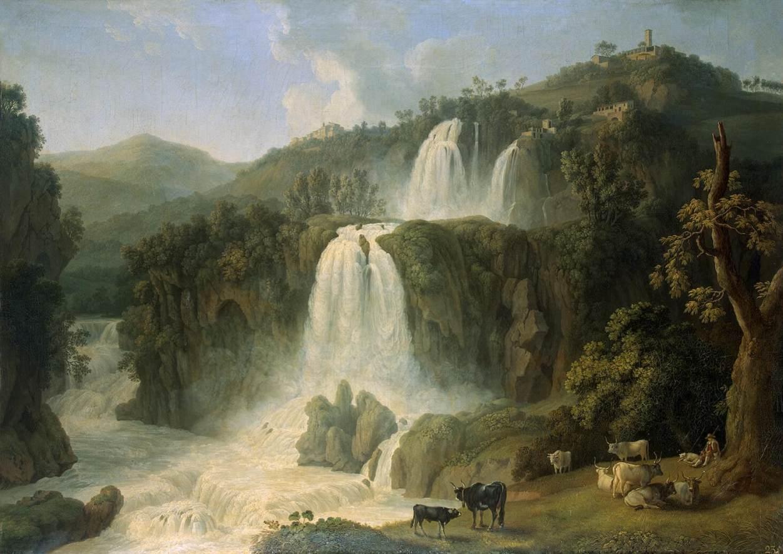 File jacob philipp hackert great cascades at tivoli wikimedia commons - Tivoli kitchenware ...