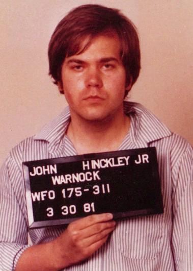 John Hinckley Jr. FBI Mugshot