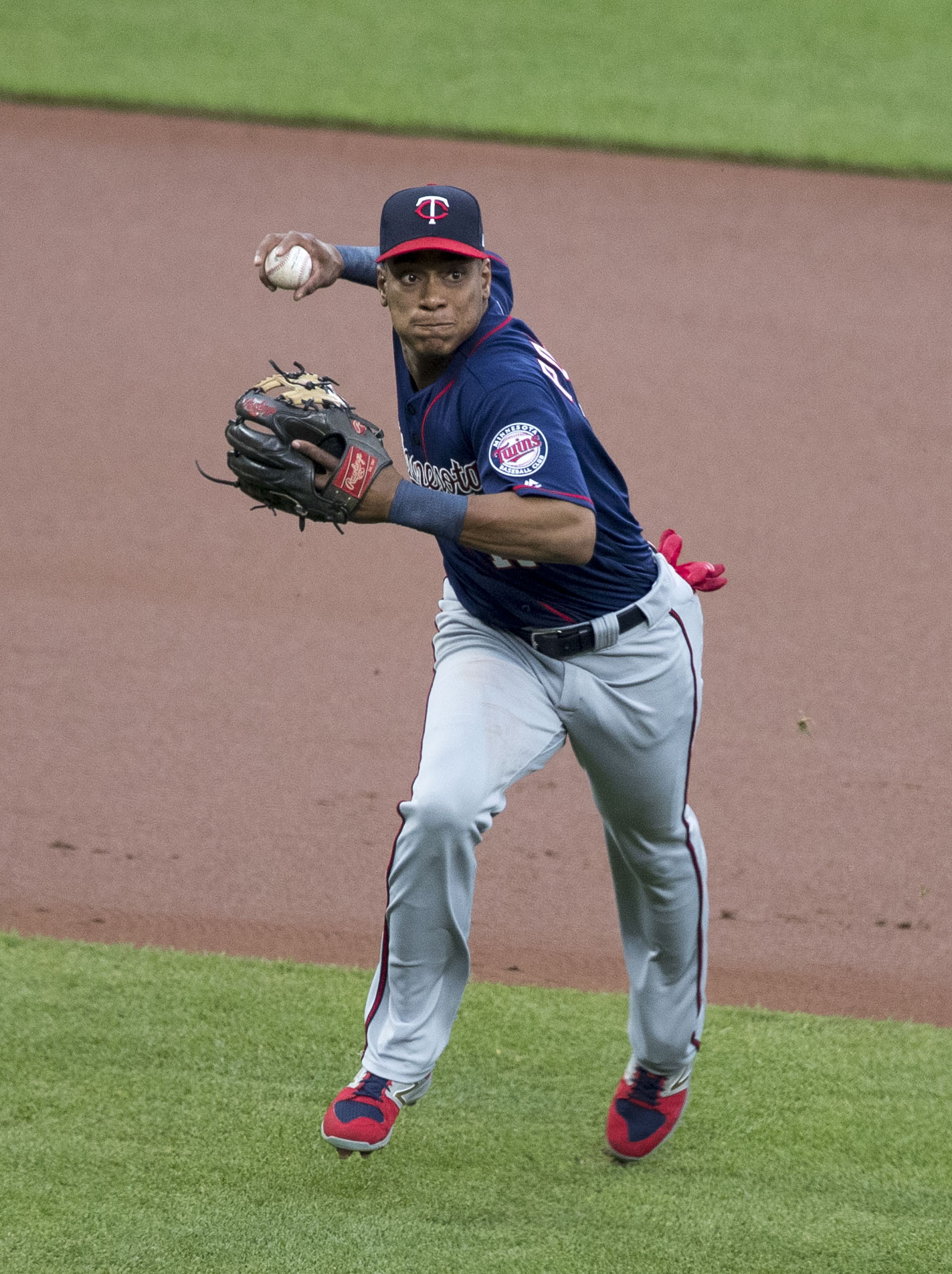 September 14, 2019 -- The Twins beat the Indians on the road, 9 to 5. The Twins starting pitcher was Lewis Thorpe and top hitter was Jorge Polanco.