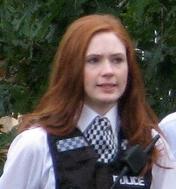 Karen Gillan as Amy Pond cropped