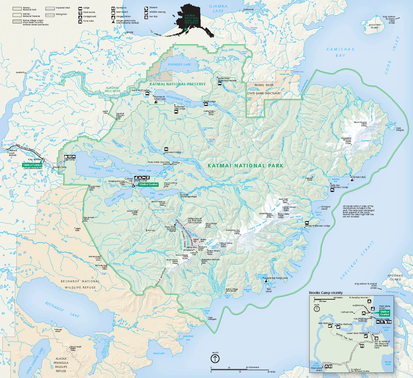 File Katmai National Park And Preserve Map 2006 09 Png