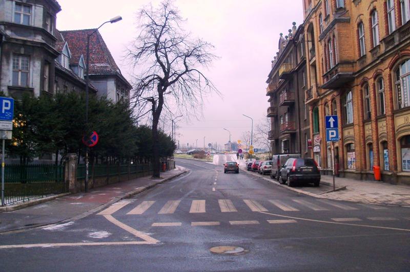 Ulica Sądowa w Katowicach