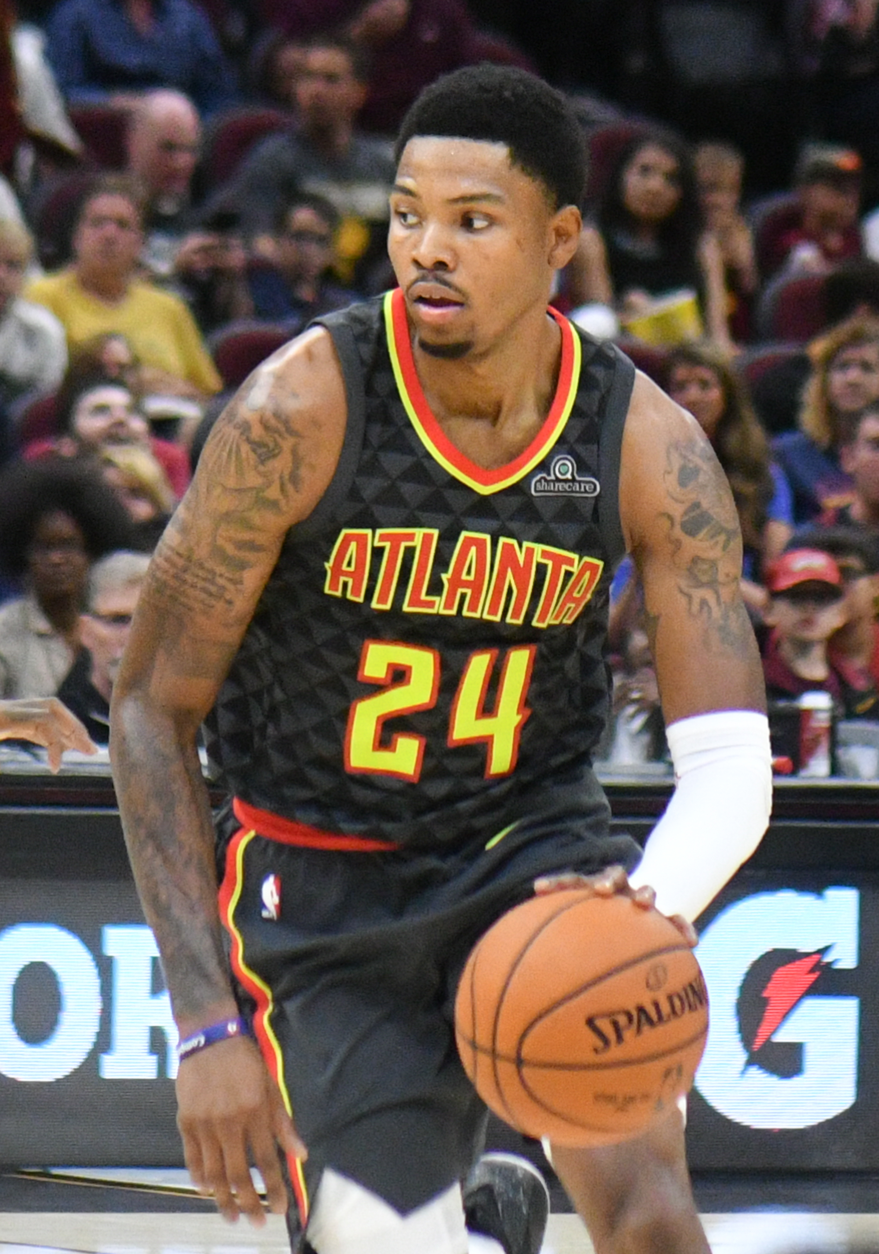 graphic relating to Atlanta Hawks Printable Schedule known as Kent Bazemore - Wikipedia