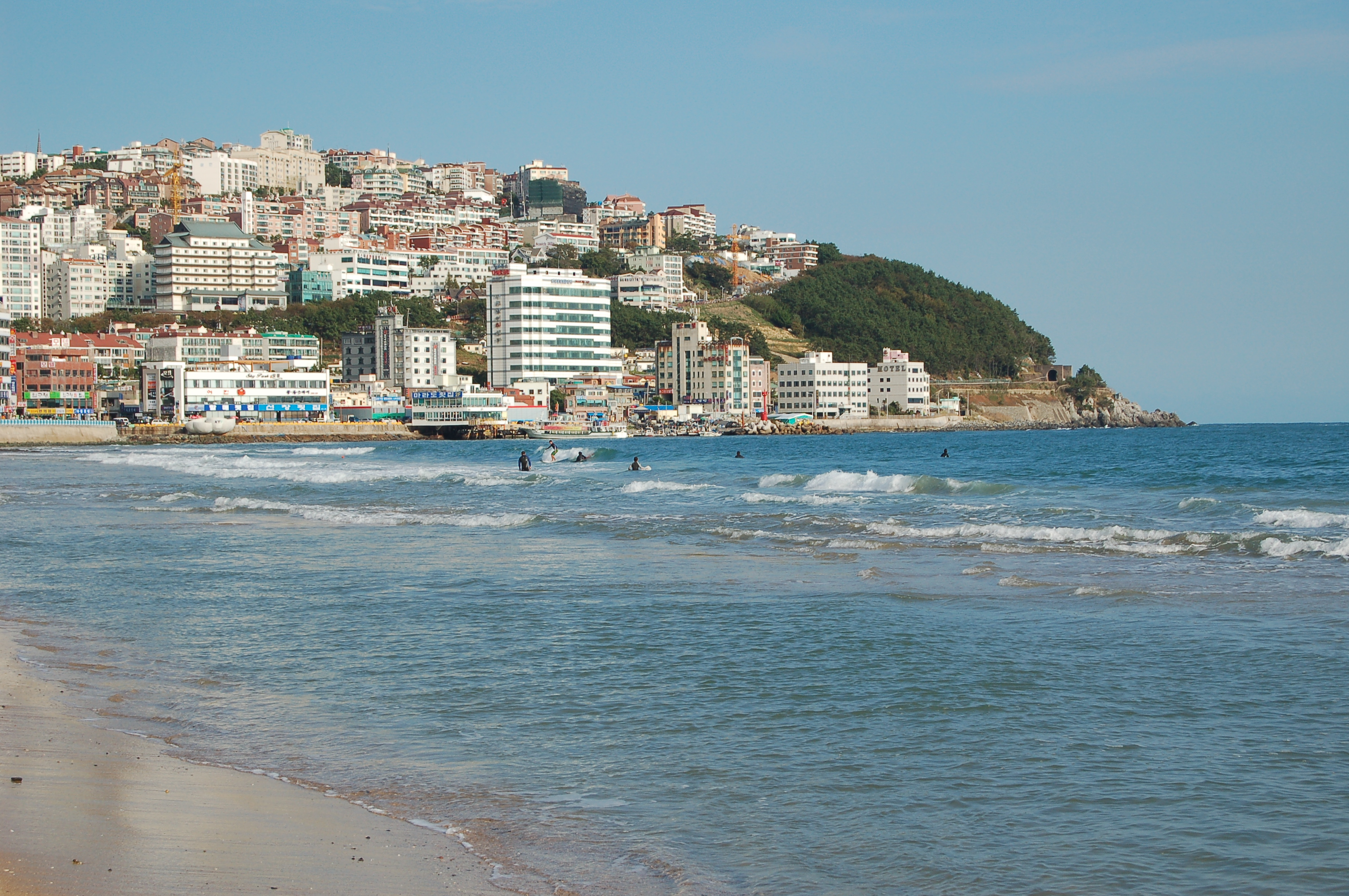 Filekorea Busan Haeundae Beach  Jpg
