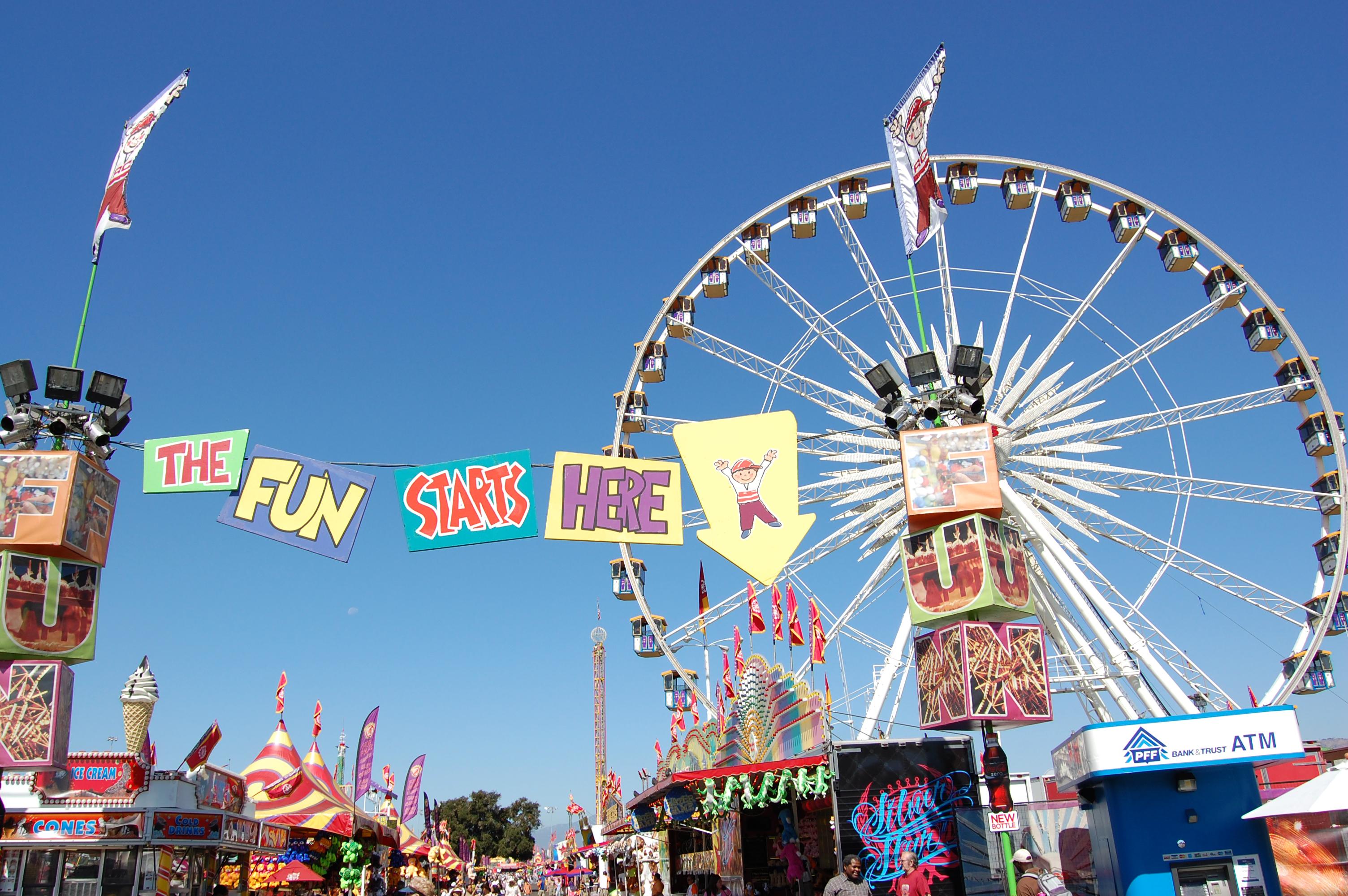 La county fair dates in Perth