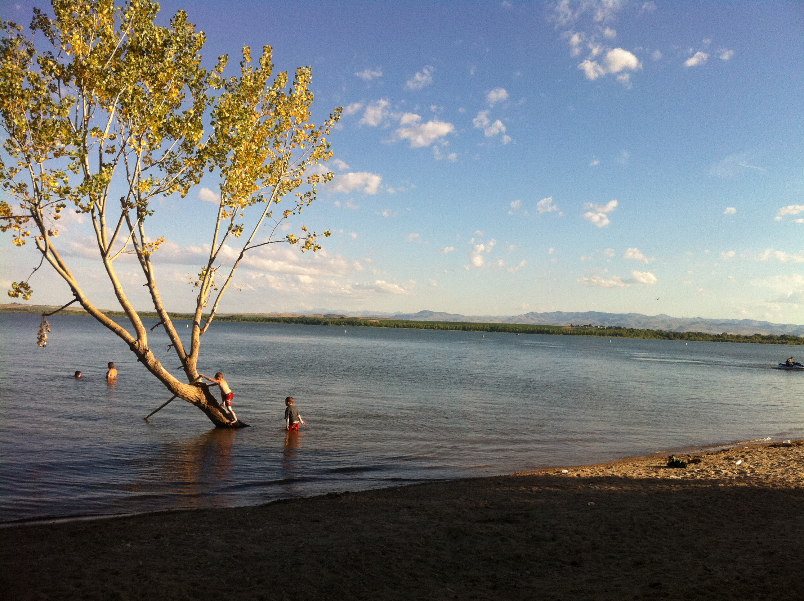 Lake lowell idaho camping