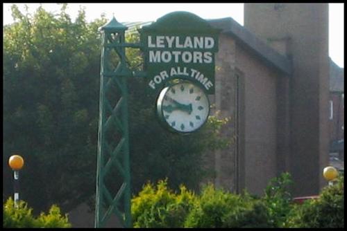 Leyland Motors Clock, Leyland - geograph.org.uk - 500208