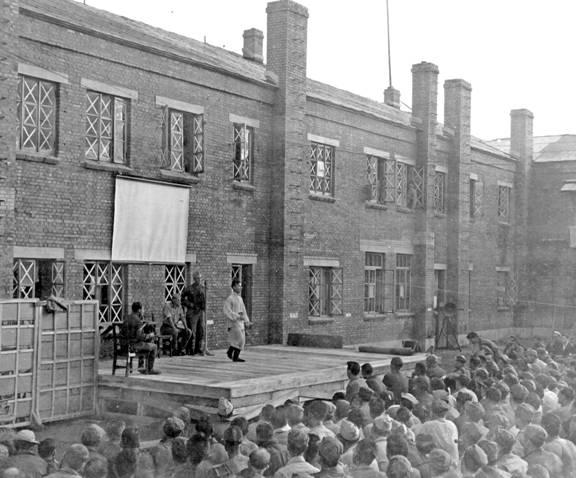 File:Liberation of Mukden POW camp.jpg