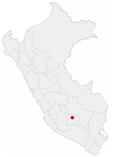 Location of the city of Abancay in Peru.png