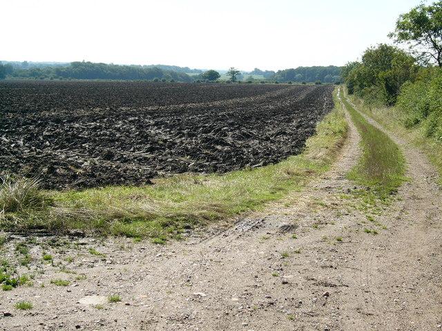 Long distance trail bridleway, Hertfordshire Chain Walk - geograph.org.uk - 534964