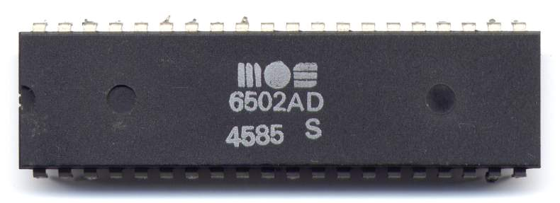 MOS Technology 6502 - Wikipedia