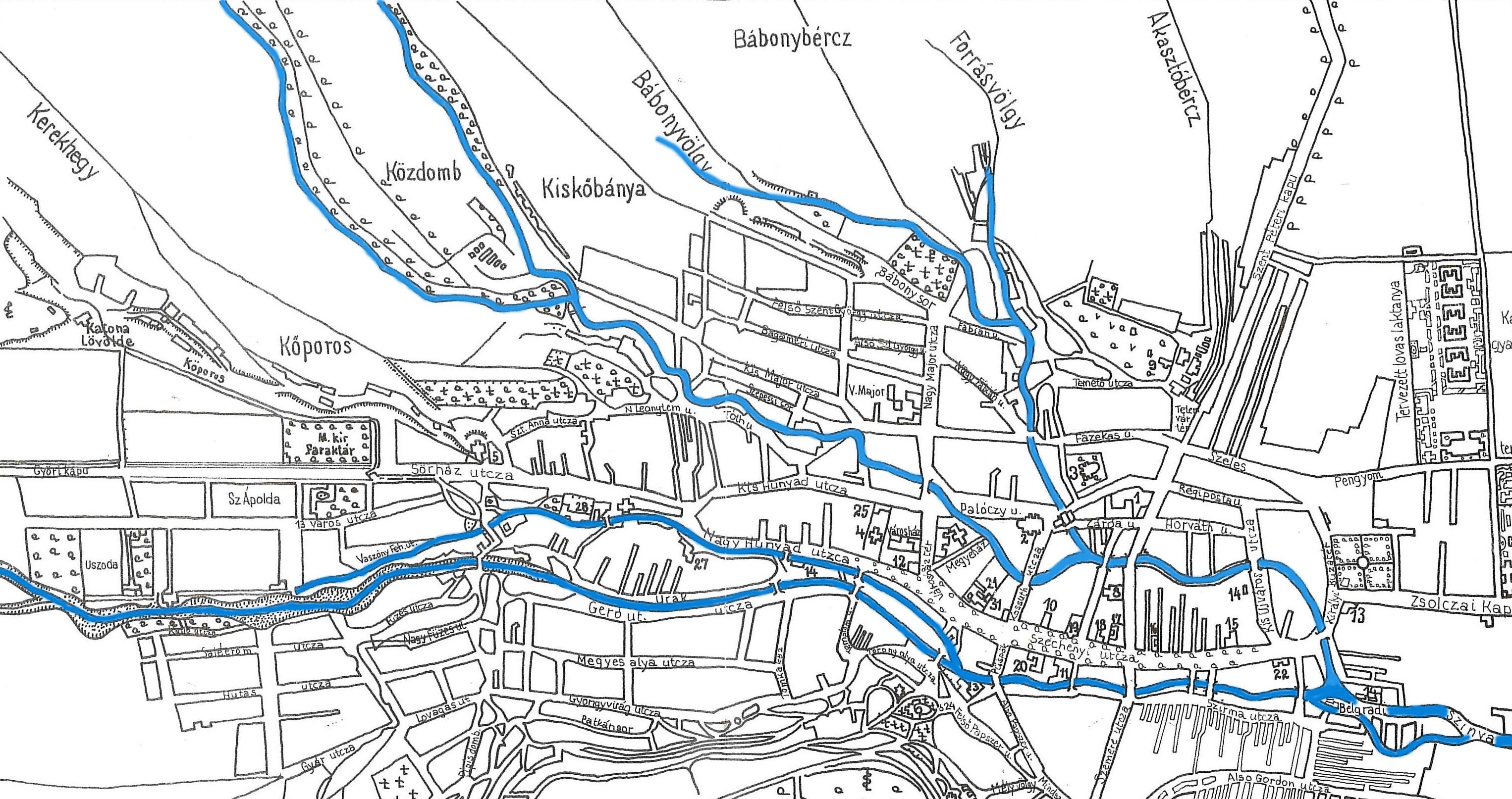 Miskolc Belváros Térkép