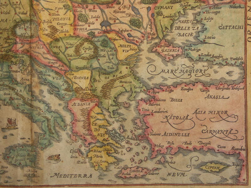 File Map Of Europe 1600 South East Jpg Wikimedia Commons