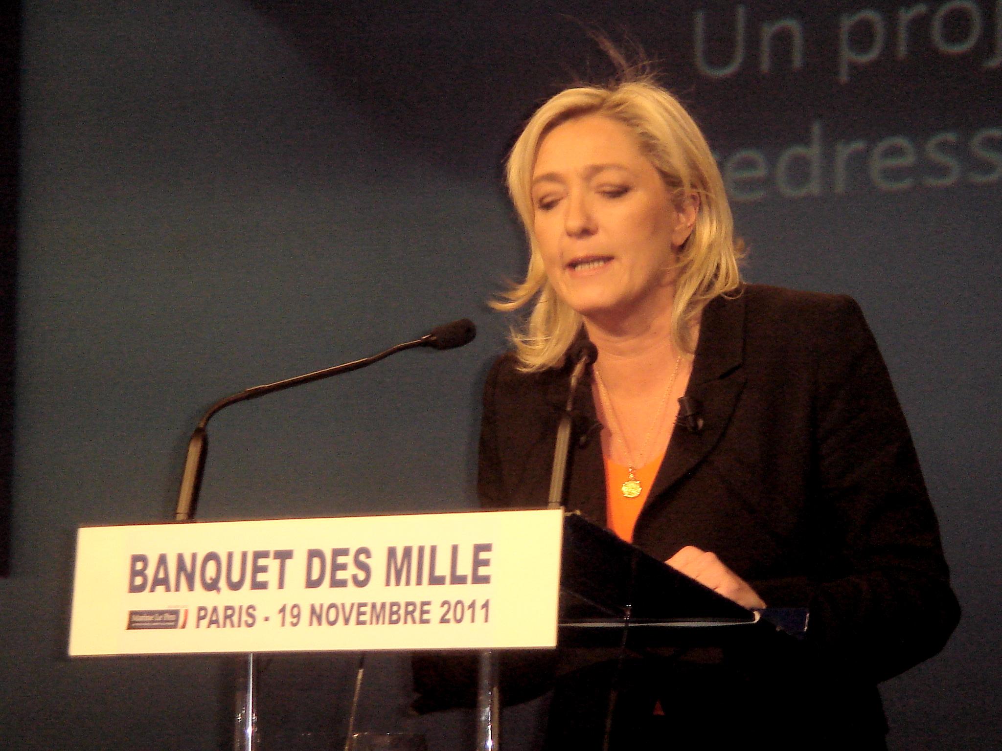 Marine Le Pen nem először indulna