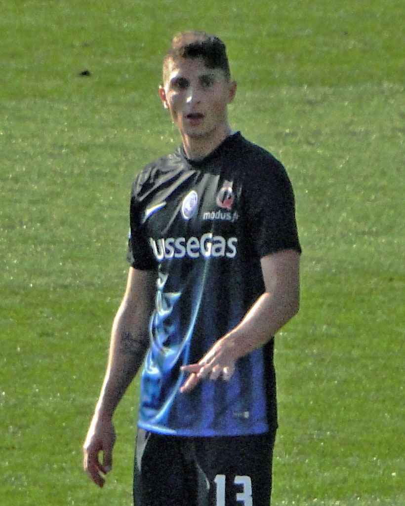 The 24-year old son of father (?) and mother(?) Mattia Caldara in 2018 photo. Mattia Caldara earned a  million dollar salary - leaving the net worth at 2 million in 2018