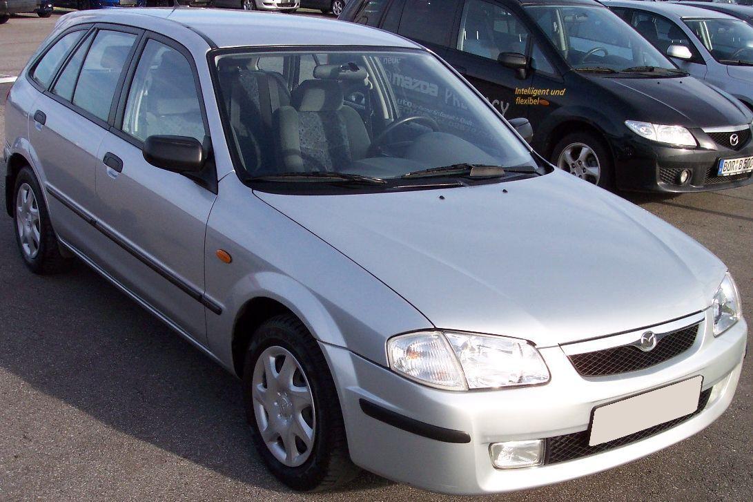 File Mazda 323 Iii Silver Jpg Wikimedia Commons
