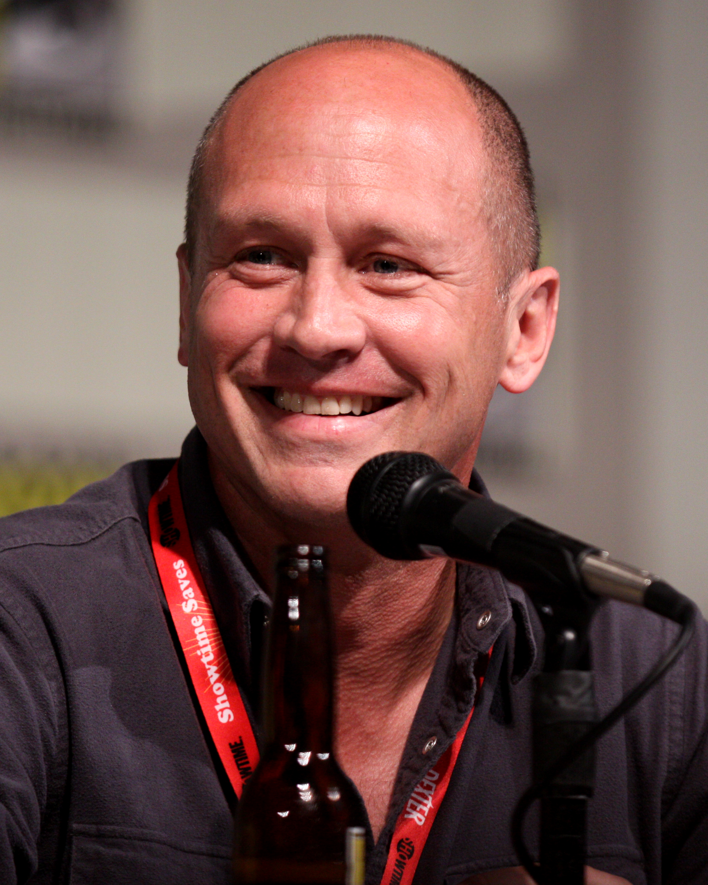 Mike Judge at the [[San Diego Comic-Con International]] in July 2011