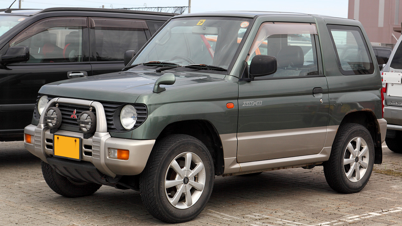 Build Your Mitsubishi >> File:Mitsubishi Pajero Mini 109.JPG - Wikimedia Commons
