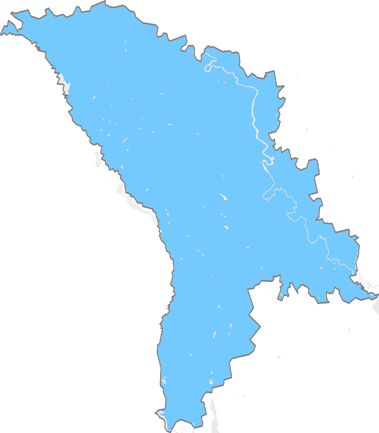 Moldova History Map Images - Moldova map outline