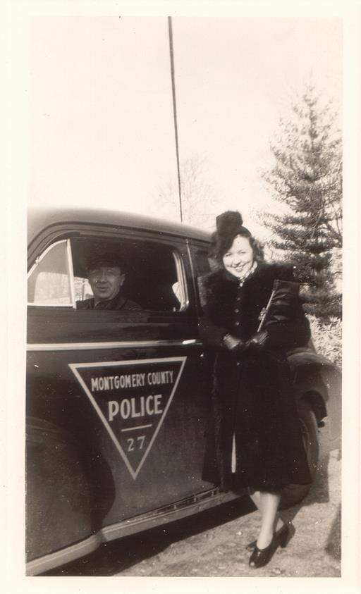 File:Montgomery County police car, 1940s jpg - Wikimedia Commons